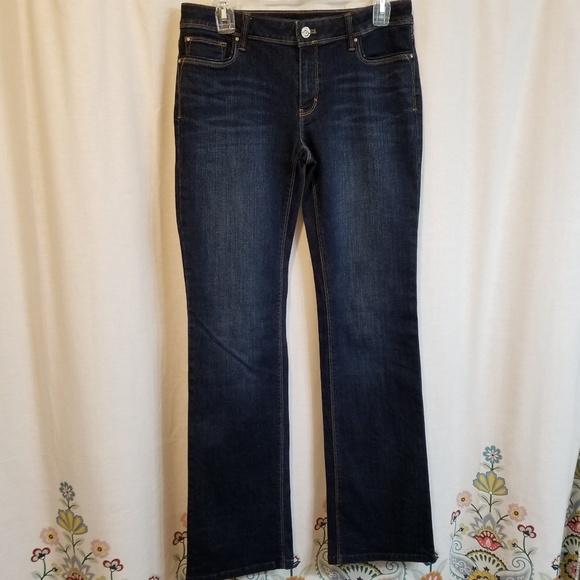 White House Black Market Denim - WHBM bootleg jeans